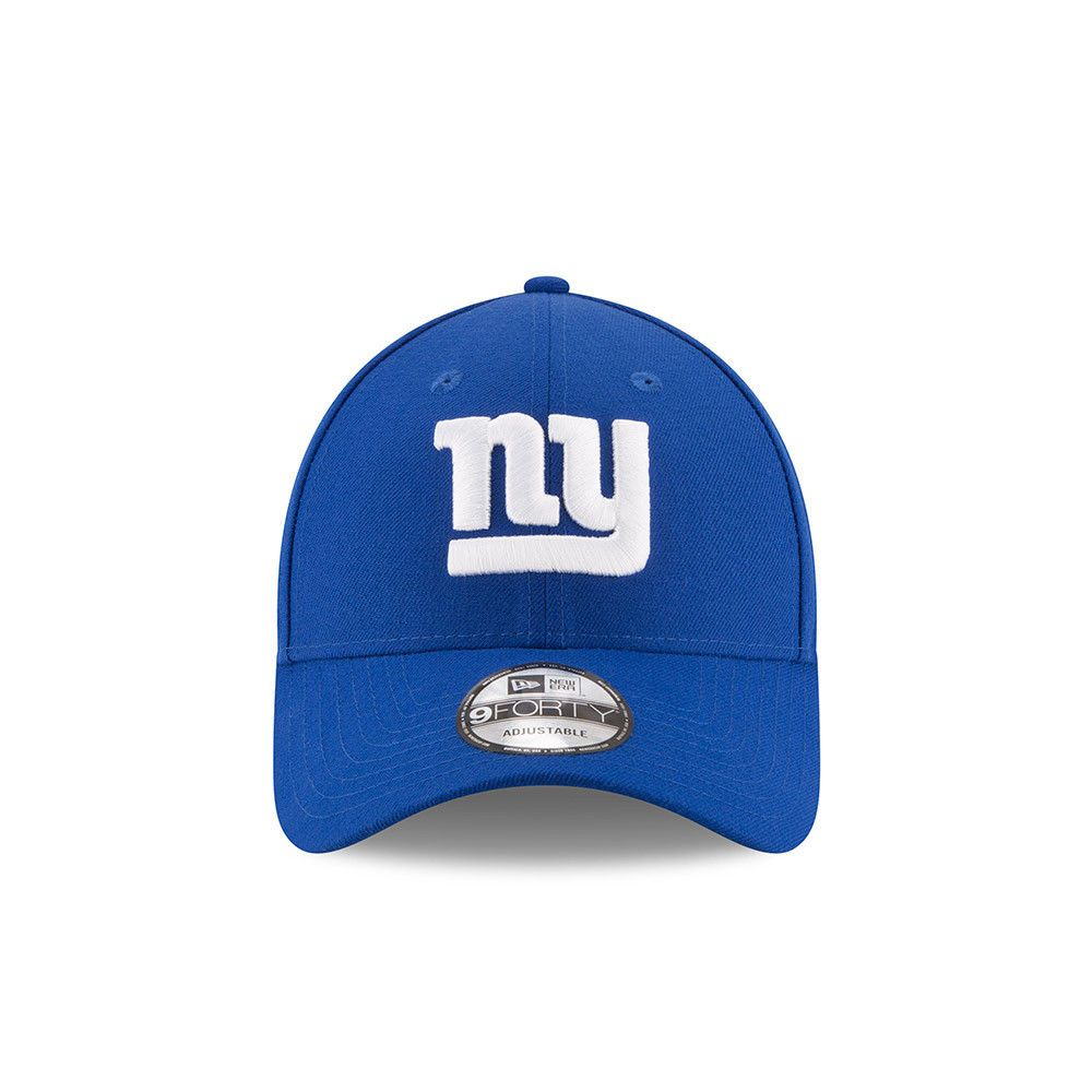 75911d65961 NEW ERA NEW YORK GIANTS BASEBALL CAP.9FORTY NFL LEAGUE ESSENTIAL NY BLUE HAT  875